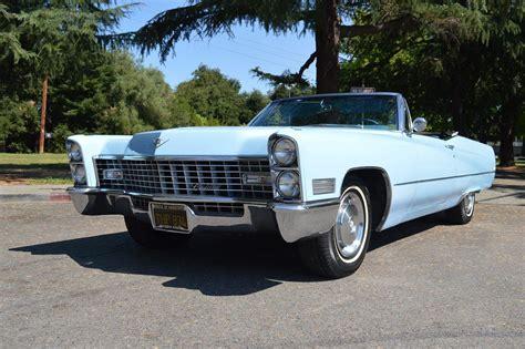 Cadillac Deville Convertible Venetian Blue Automatic