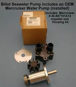Sea Water Pump Mercruiser Chevy V8 454 502 1996
