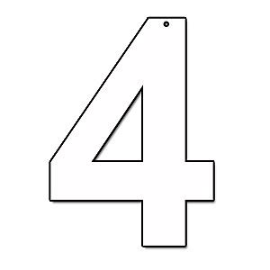 cut out letter b cardboard ea supplies numbers and letters supplies decorations 12226