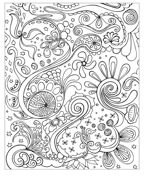 Coloring Pages For by Free Printable Abstract Coloring Pages For