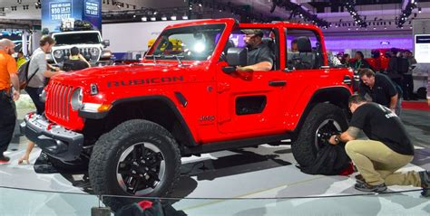 2019 Jeep Wrangler La Auto Show by All New 2018 Jeep Wrangler Specs Released At La Auto Show