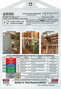Examples Of Lockout-tagout Procedures