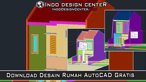 desain rumah minimalis autocad  desain rumah