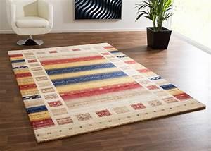 Gabbeh Teppich Ikea : bunte teppiche elegant teppich modern leinwand optik teppich floral ornament muster bunt creme ~ Markanthonyermac.com Haus und Dekorationen
