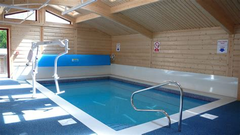 hydrotherapy pool buildings  enclosures norwegian log