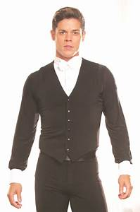 MV1 -Mens Ballroom Simple Vest