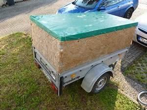 Pkw Anhänger Aufbau : pkw anh nger 750 kg bj 2000 mit aufbau plan u osann ~ Kayakingforconservation.com Haus und Dekorationen