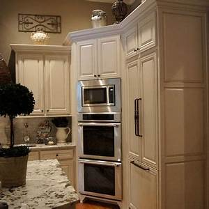 best 25 built in refrigerator ideas on pinterest corner With best brand of paint for kitchen cabinets with dream big wall art