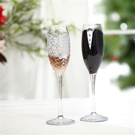 pcsset wedding champagne glass set decor cup hanap red