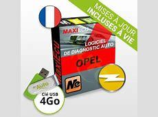 Logiciel Diagnostic Opel MaxiECU + Interface MPMCOM