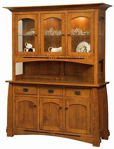 mission style bedroom dining room furniture hutch dining With dining room hutch and buffet
