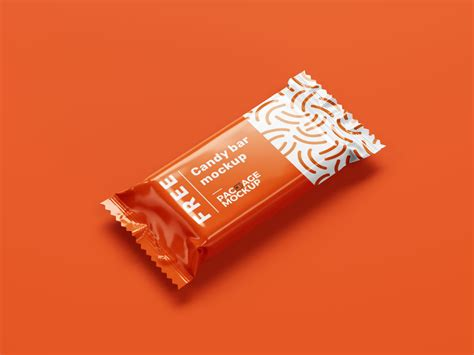 Layered psd easy smart object insertion license: Choco Candy Bar Packaging Cover Mockup 4 PSD Set - Free ...