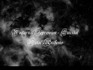 nocturnal depression suicidal thoughts