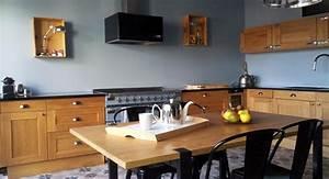 Deco Cuisine Bistrot : avant apr s apporter du cachet une construction neuve m6 cuisine ~ Louise-bijoux.com Idées de Décoration