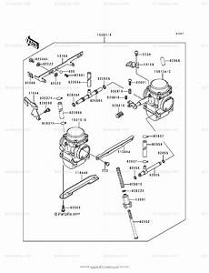 Kawasaki Motorcycle 1993 Oem Parts Diagram For Carburetor