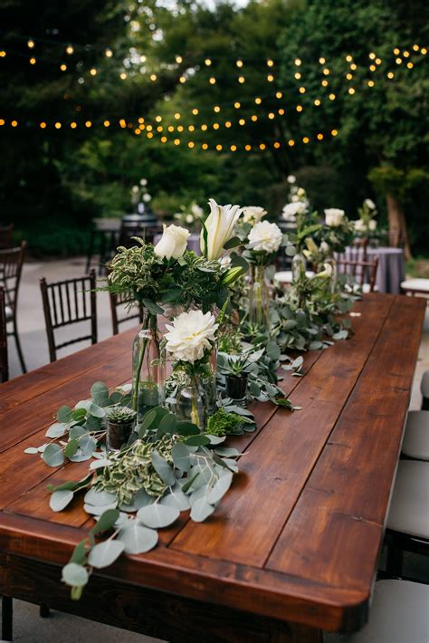 Wedding Flowers Centerpiece Succulent Wedding Farm