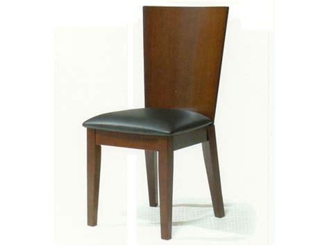 spoleto contemporary walnut dining chair portland oregon