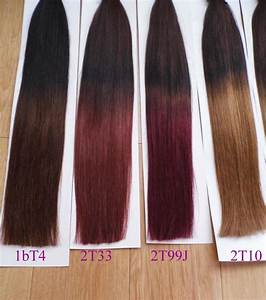 MIRACLE STOCK Color 1bT12 STICK I TIP HAIR Ombre Two Tone