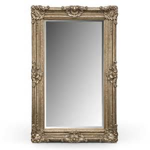 floor mirror antique silver antique accent pieces floor mirror value city furniture