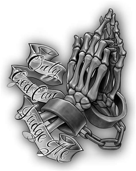 Only God Can Judge Me Tattoo Design | Only God Judge Me Tattoos | Tattoo designs, Tattoos