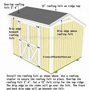Shingles: Saltbox Shed Plans - Page 14