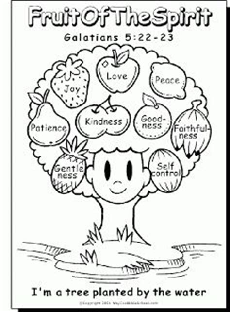 Galatians 6 10 Coloring Page Bluebells Class Fruit Of The Spirit Fruit Symbolism Strawberry