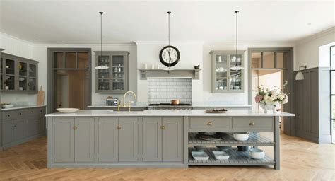 painted shaker style kitchen cabinets shaker kitchens by devol handmade painted kitchens
