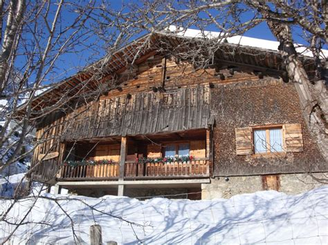 savoyard chalet in le grand bornand chinaillon homeaway le grand bornand