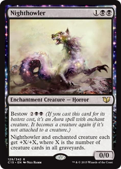 mtg black enchantment deck commander 2015 cards magic the gathering
