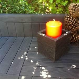 bordure de jardin en pierre reconstituee apparence bois noir With amenager un jardin en longueur 10 bordure de jardin en pierre reconstituee planche apparence