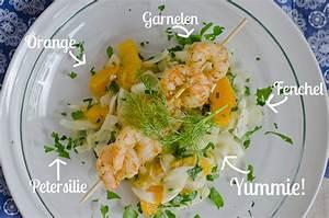 Wie Schneidet Man Fenchel : fenchel orangen salat mit garnelenspie leelah loves ~ Eleganceandgraceweddings.com Haus und Dekorationen