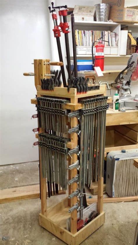 rolling clamp cart workshop pinterest blog