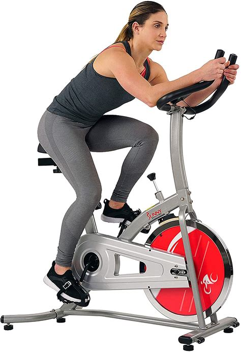 Sunny Health & Fitness Indoor Exercise Stationary Bike ...