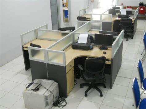 jual meja sekat kantor cubicle table harga murah semarang