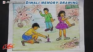 Happy Diwali Memory Drawing   How to Draw   JK Arts 754 ...