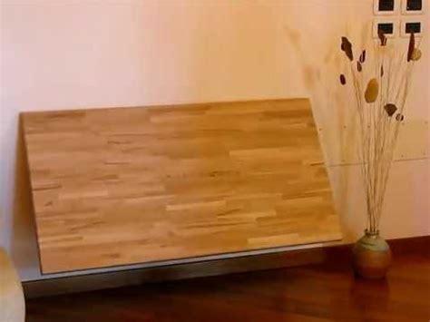 tavolo a muro ribaltabile tavolo cinius legno faggio apri chiudi muro avi