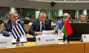 Minister of Foreign Affairs of Belarus V.Makei ...