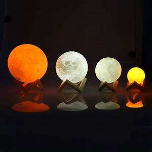 LED Moon Lamp Night Light - LiZZLY