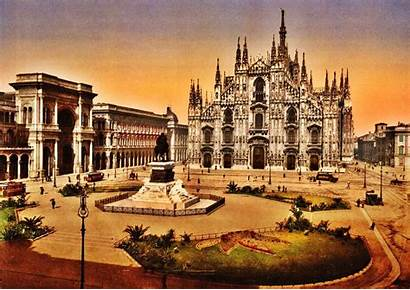 Milan Italy Wallpapers Historic Area Desktop Town