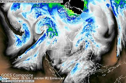 Storm Brewing West Weather Rains Southeast Pacific