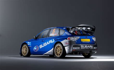 Subaru's Wrc Impreza Rally Car (2008)