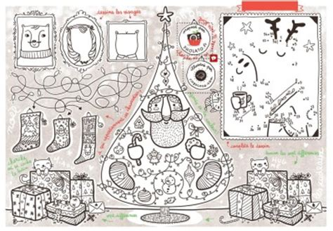 jeux de cuisine de de noel une magnifique page de jeux et coloriage gratuite autour