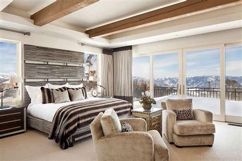 chambre chalet de luxe chambre montagne luxe idées de décoration et de mobilier