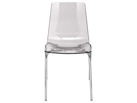 chaise lollipop coloris transparent vente de chaise conforama