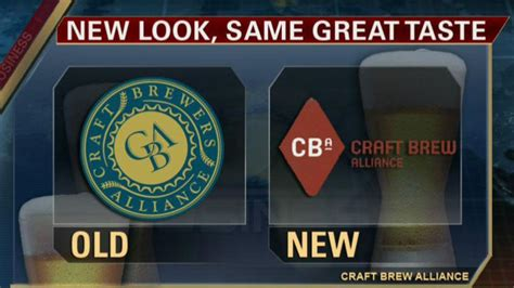 Craft Brew Alliance: New Ticker, New Logo, Same Great ...