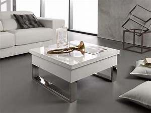 Table Basse Moderne : mesa de centro blanca online la mesa de centro tienda online ~ Preciouscoupons.com Idées de Décoration