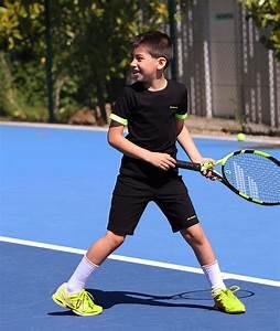 Lucas Boys Tennis Outfit | Black Junior Tennis Apparel by Zoe Alexander