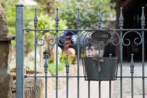 Gartenzaun Aus Metall Verzinkt ELEO