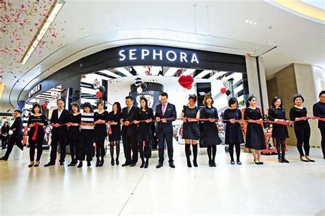 sephora china opens   store  shanghai shanghai