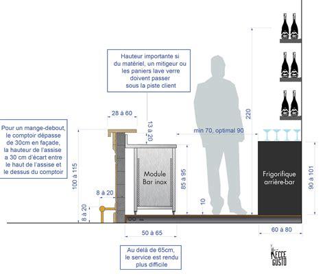 hauteur comptoir cuisine hauteur ilot central cuisine 17 comptoir bar hauteur